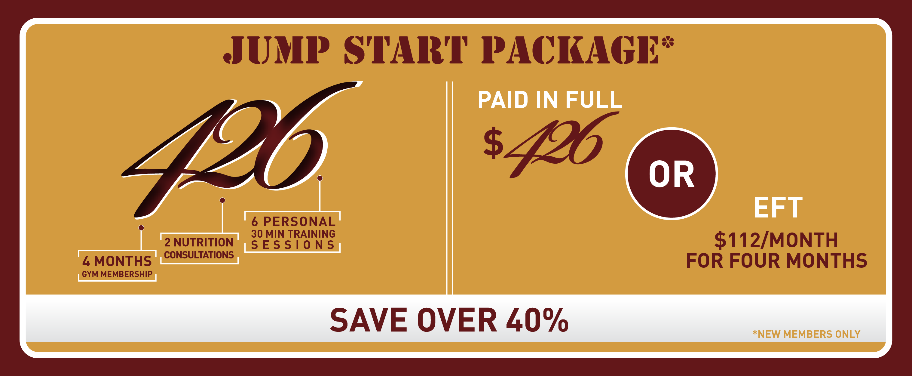 Jump Start Promo Package